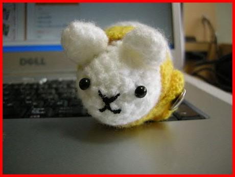 ゆきぴんの編みぐるみのモルッチ(^ー^*)